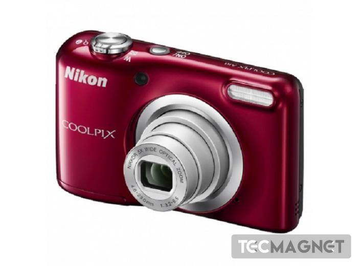 Coolpix A10 RED + Estojo - 16,1Mp CCD - | 1 | Tecmagnet