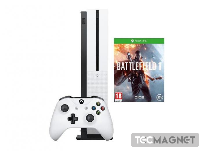 Xbox One S 500GB + Battlefield 1 | 1 | Tecmagnet
