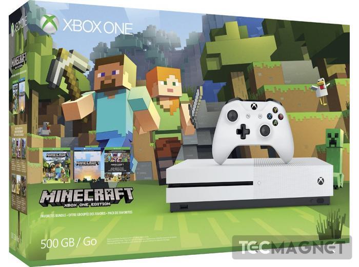 Xbox One S 500GB + Minecraft | 1 | Tecmagnet