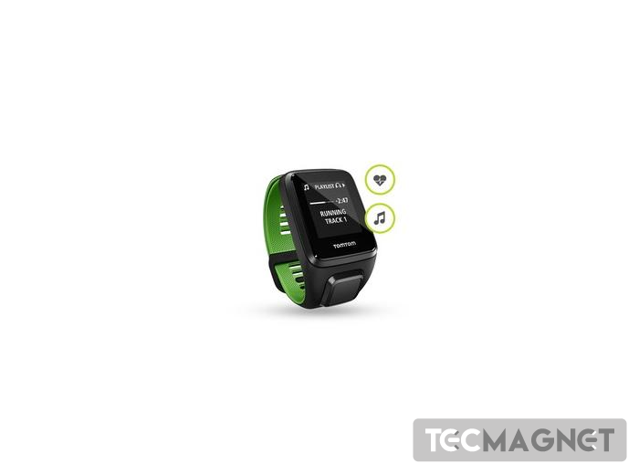 TomTom Runner 3 Cardio + Music Preto/Ver | 1 | Tecmagnet