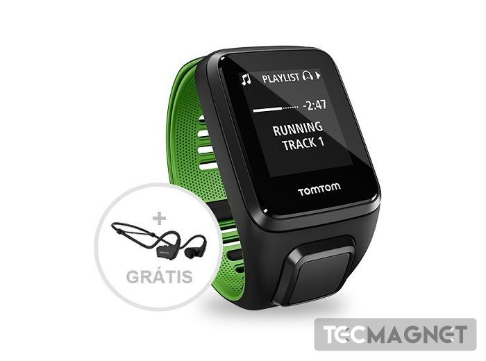 TomTom Runner 3 Cardio + Music + Auculta | 1 | Tecmagnet